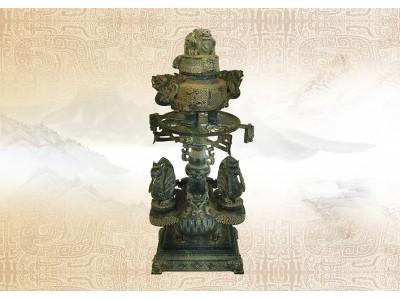 古代早期碧玉雕組件
